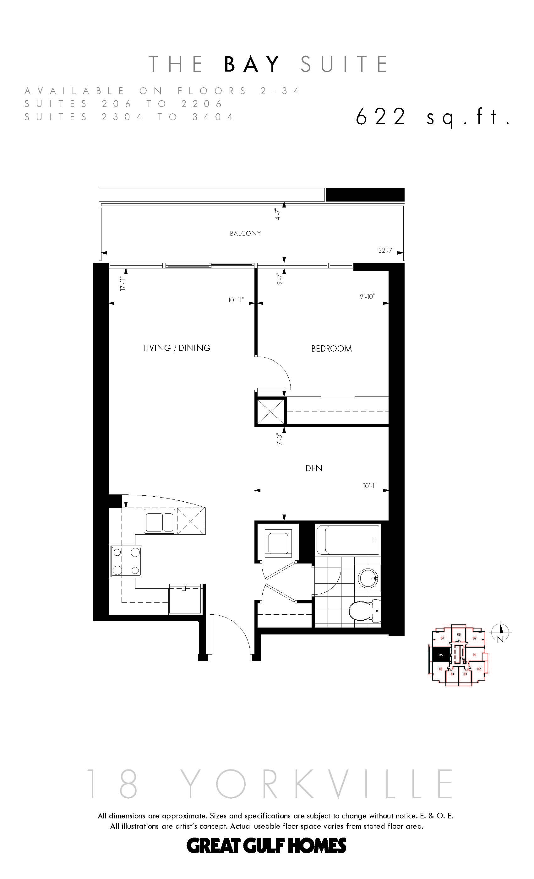 floor plans for 18 yorkville condos 18 yorkville condos