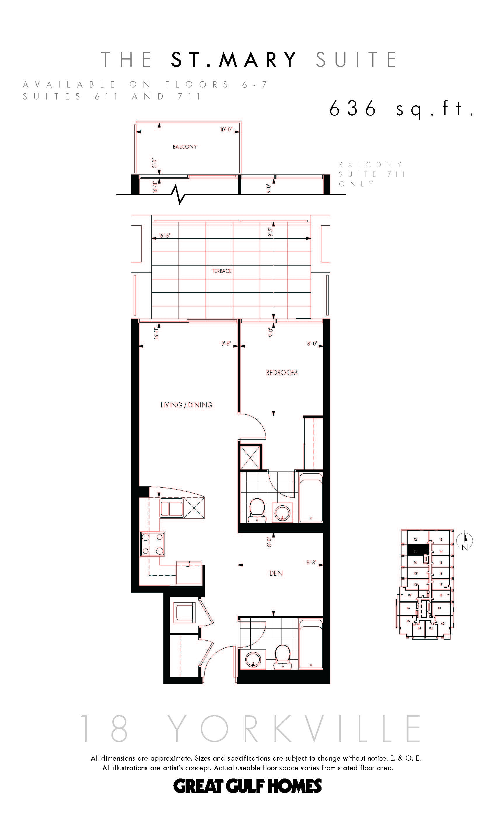 18yorkville floorplan st mary 18 yorkville condos at 18